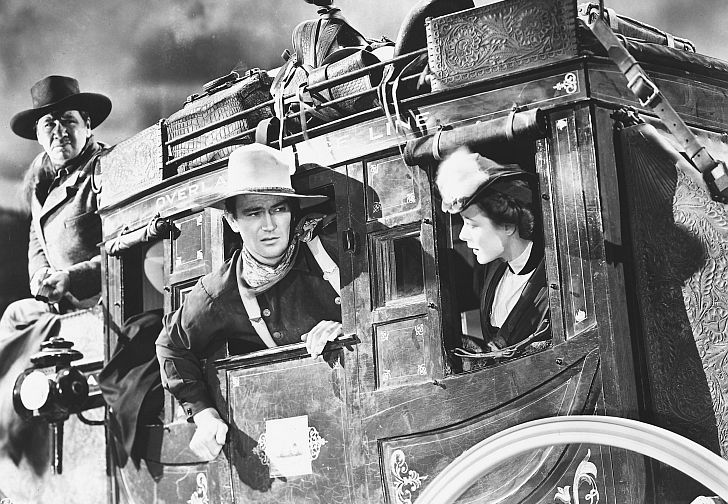 stagecoach from the movie Stagecoach with John Wayne &