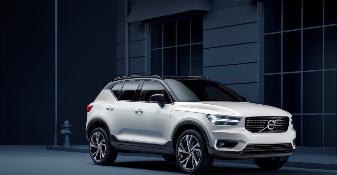 Volvo has jumped on the small SUV bandwagon with the new XC40