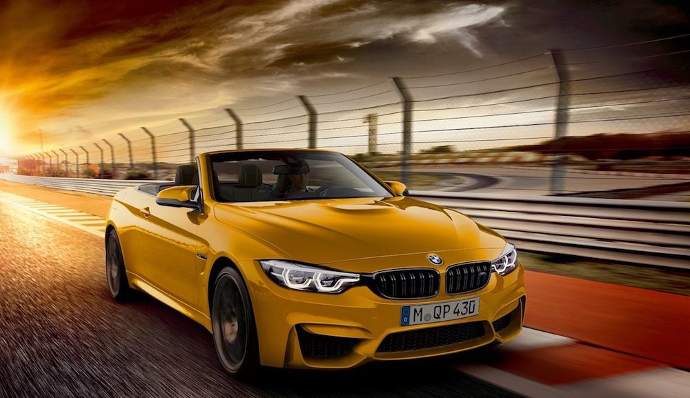 BMW Has Announced A Limited-Edition M4 Convertible