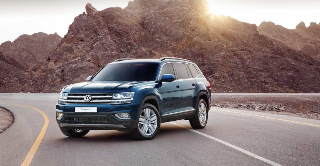 Volkswagen Teramont Review: Large SUV Driven In Oman