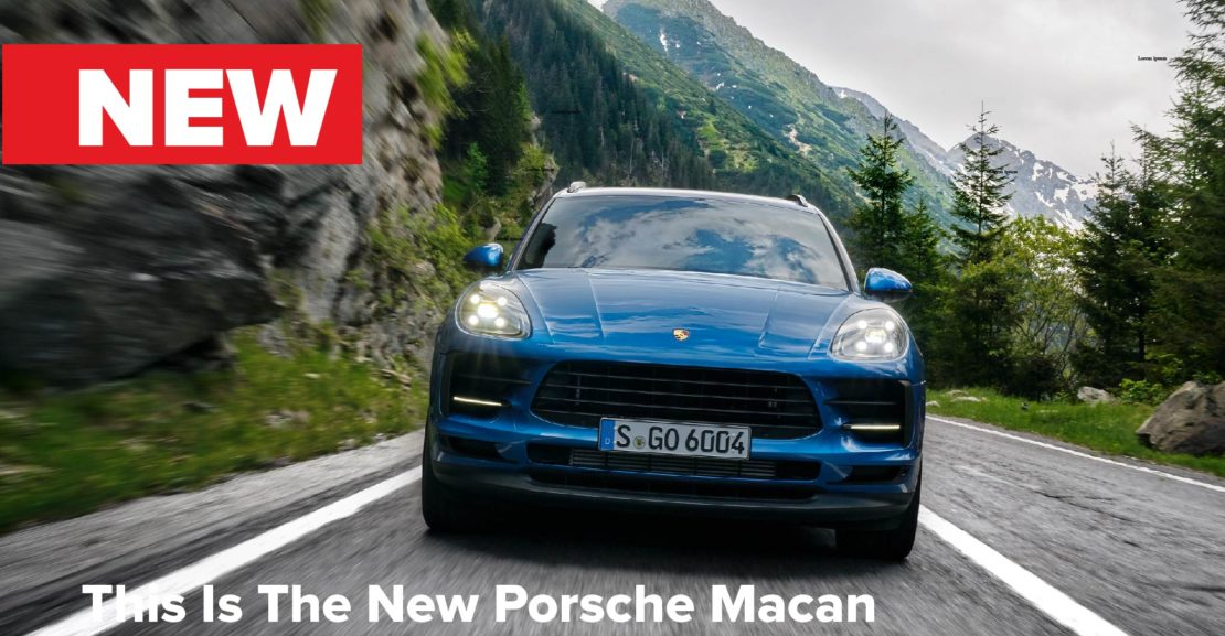 Porsche announces the new Macan