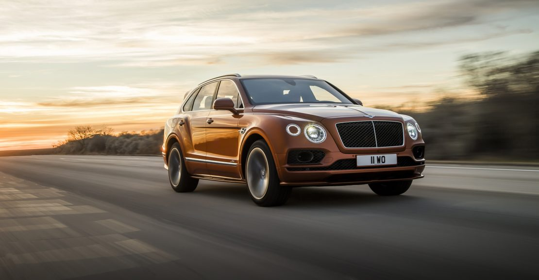 BENTLEY LAUNCHES WORLD'S FASTEST, MOST LUXURIOUS SUV