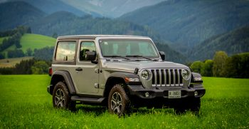 First Drive: 2019 Jeep Wrangler Sport Driven On Road