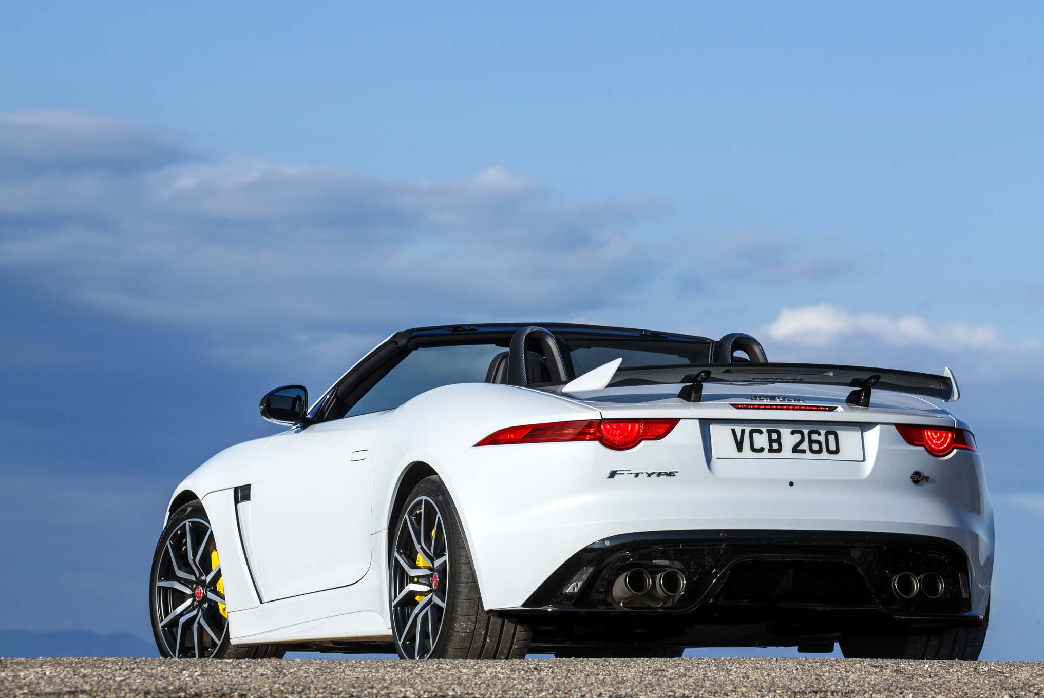 2018 Jaguar F Type Svr Cardeals Egypt
