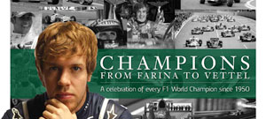 Champions – from Farina to Vettel