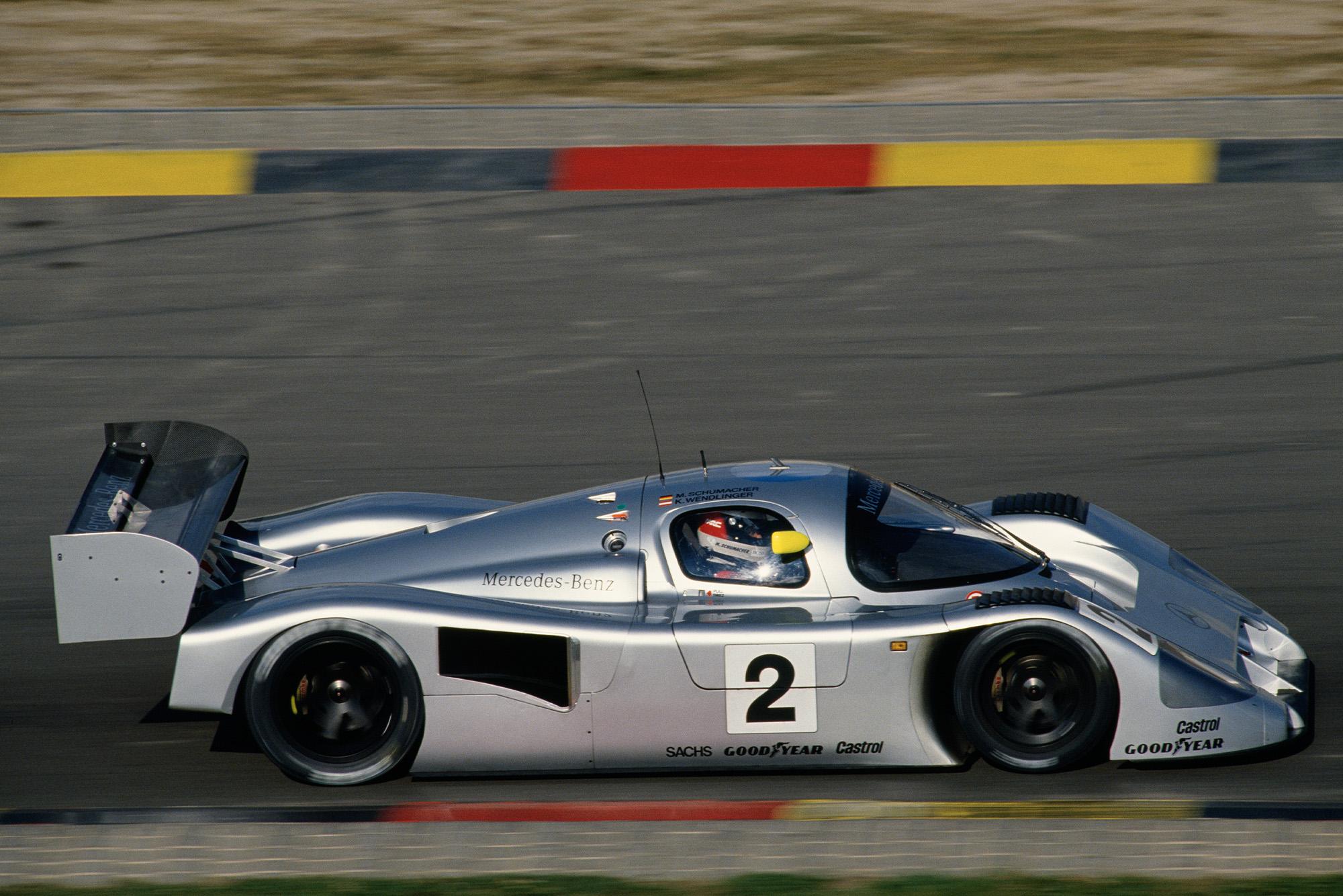 Michael Schumacher Mercedes C291 in 1991