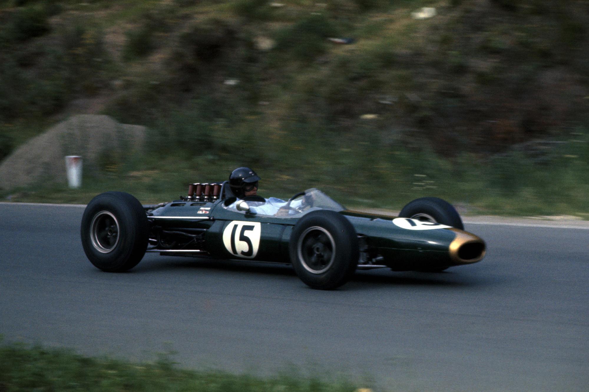 Dan Gurney in his Brabham.