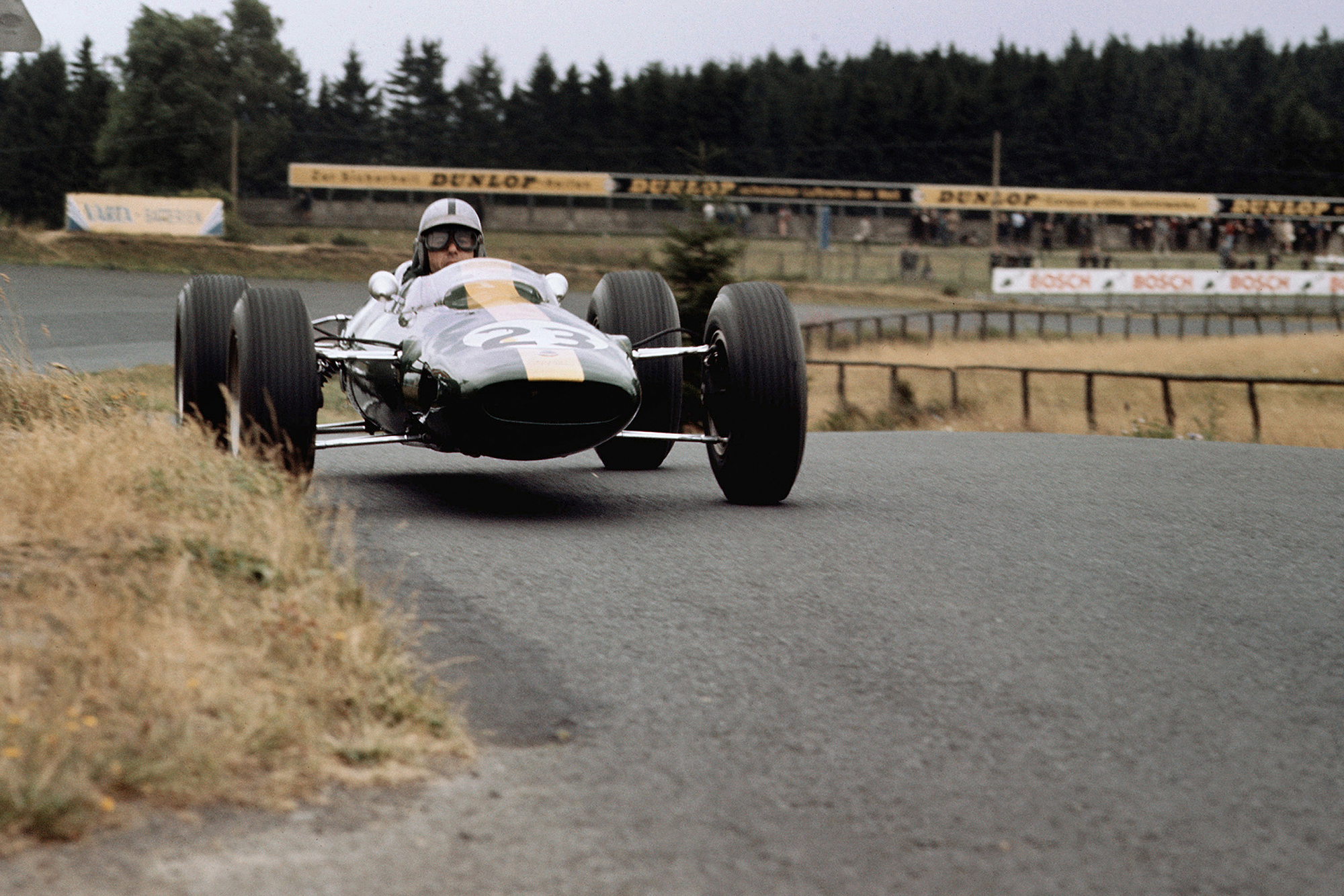 Gerhard Mitter in his Lotus Climax 25