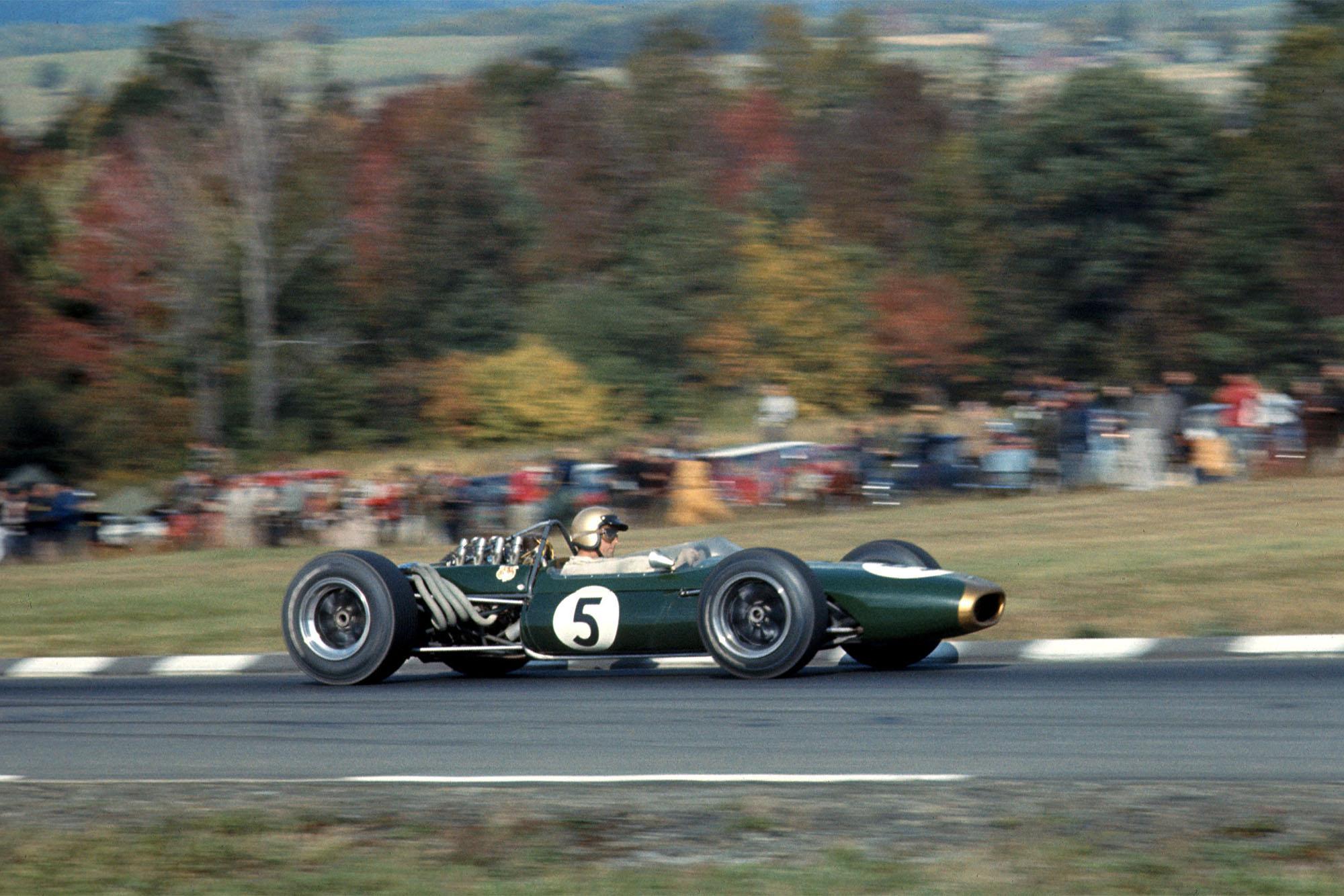 Jack Brabham (AUS) Brabham BT20, did not finish due to engine failure.