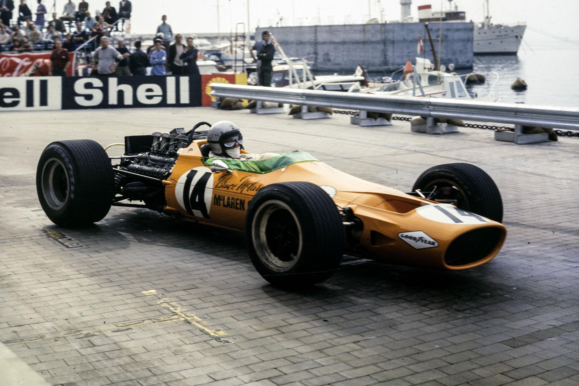 Bruce McLaren, McLaren M7A Ford.
