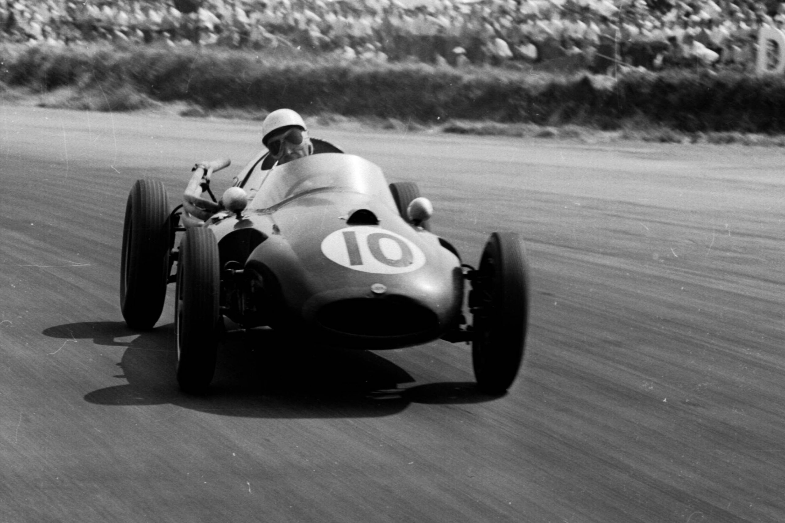 Roy Salvadori in his Cooper T45 Climax