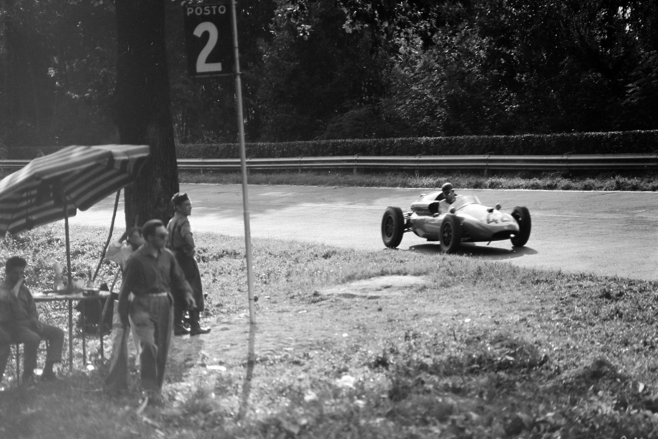 Ian Burgess in a Cooper T51 Maserati