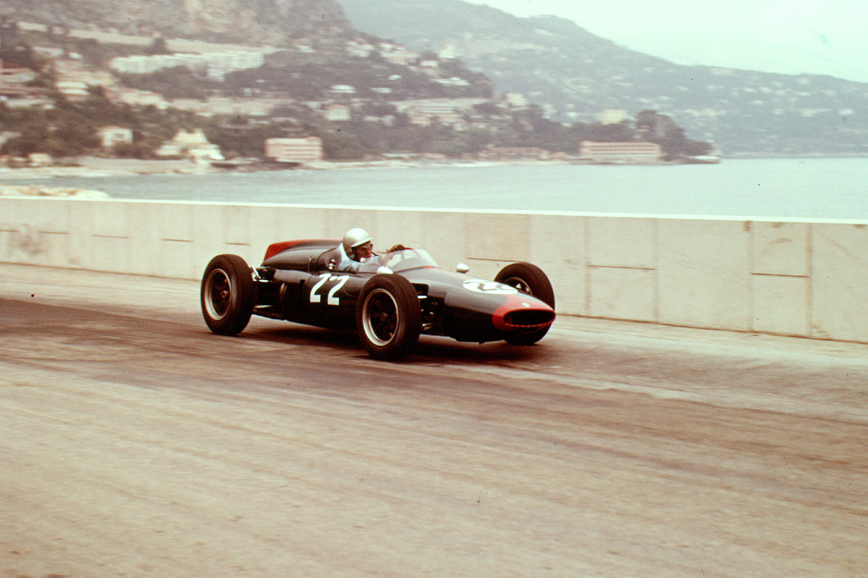 John Surtees in his Cooper T53 Climax.