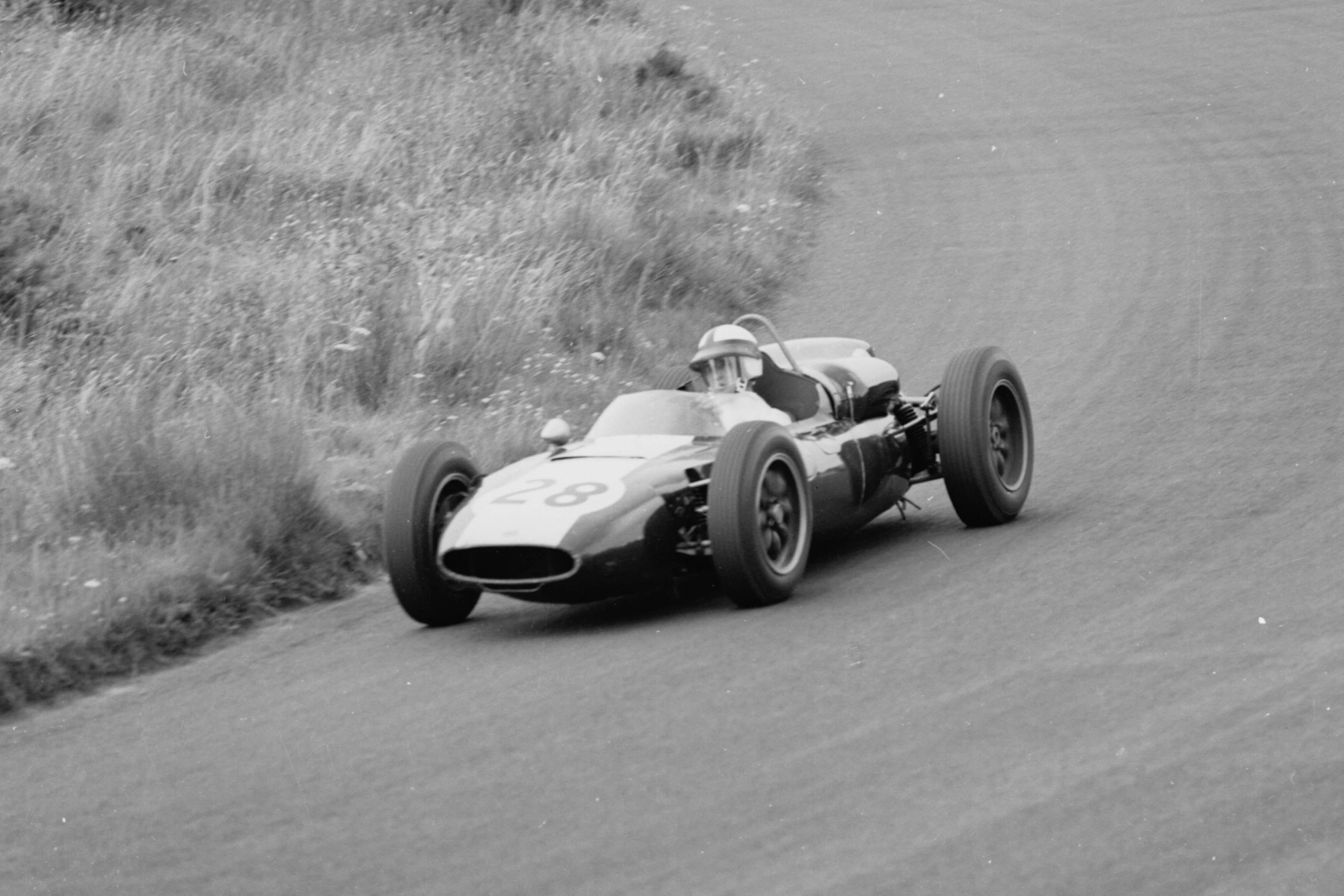 Jackie Lewis in his Cooper T53-Climax.