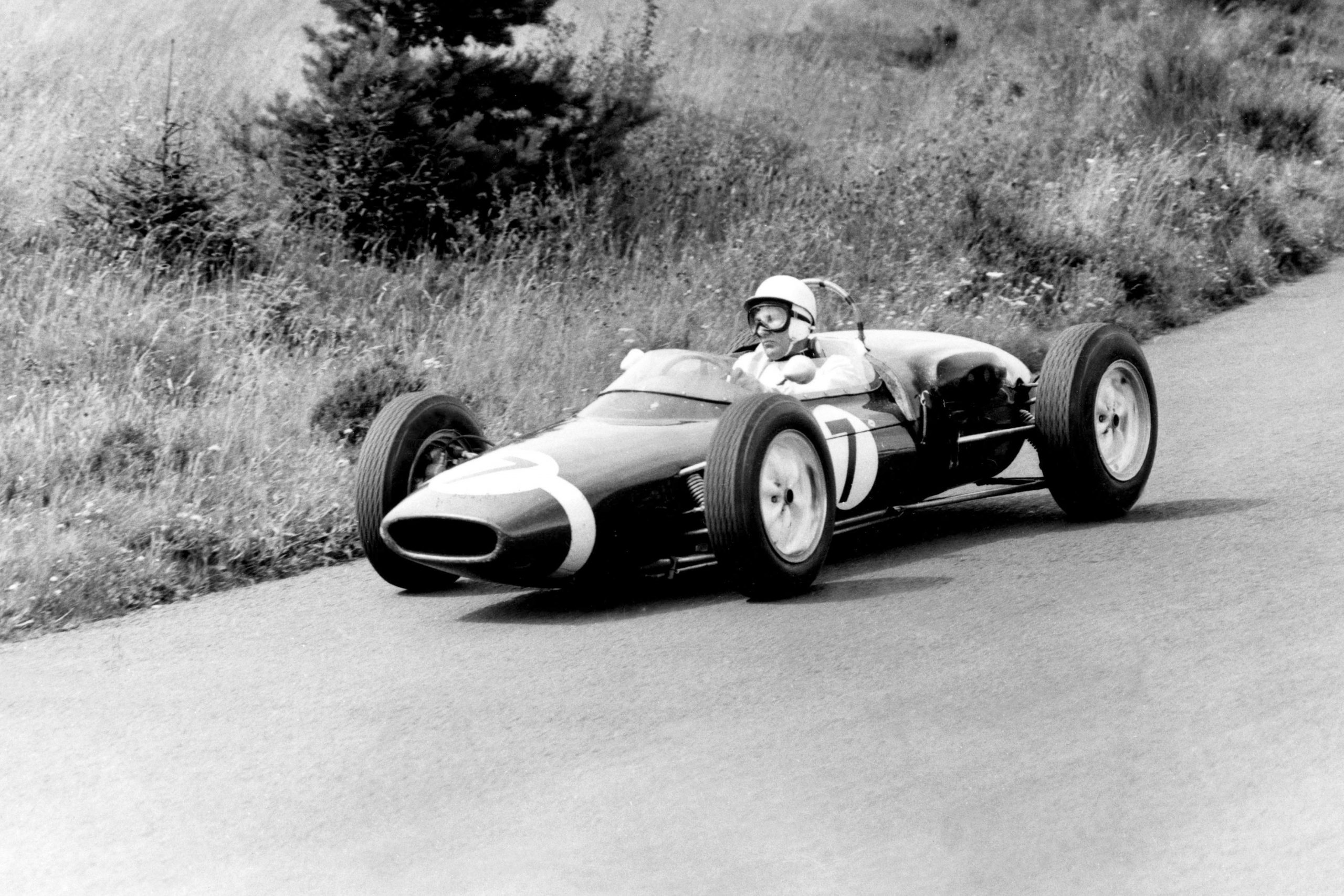 Stirling Moss in his Lotus 18/21-Climax.