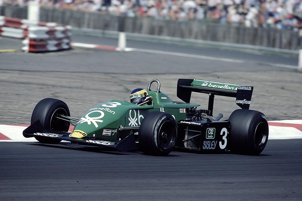 The Tyrrell 011 Ford of Michele Alboreto.