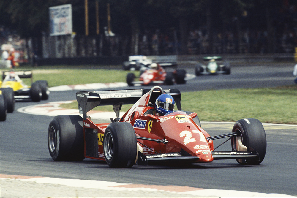 Patrick Tambay in his Ferrari 126C3.