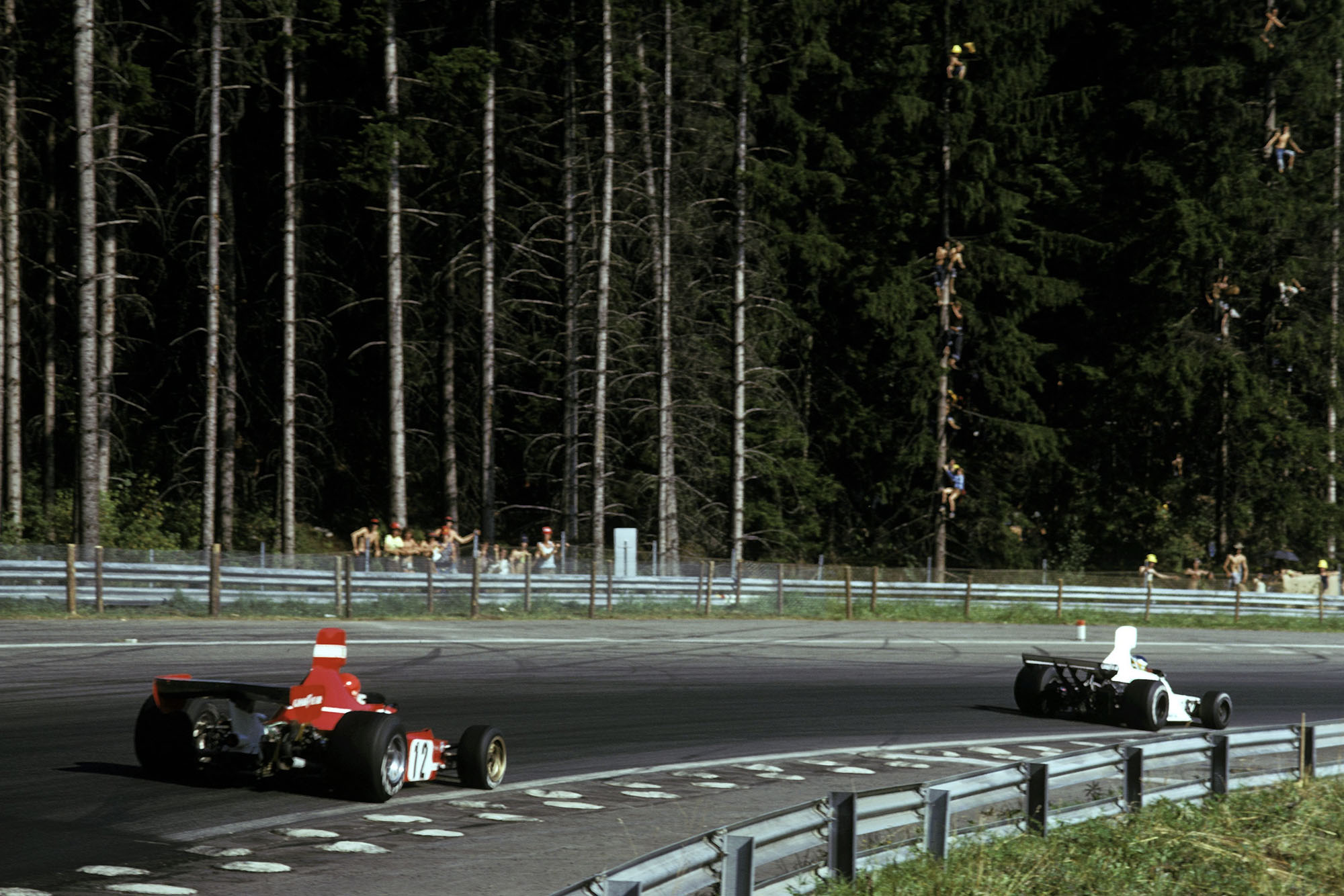 1974 Austrian GP race 2
