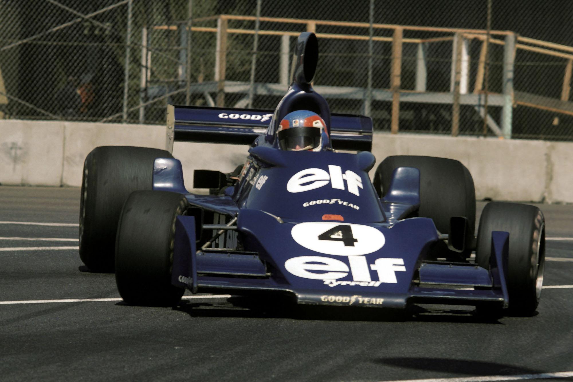 Patrick Depailler, Tyrrell, 1976 United States Grand Prix West