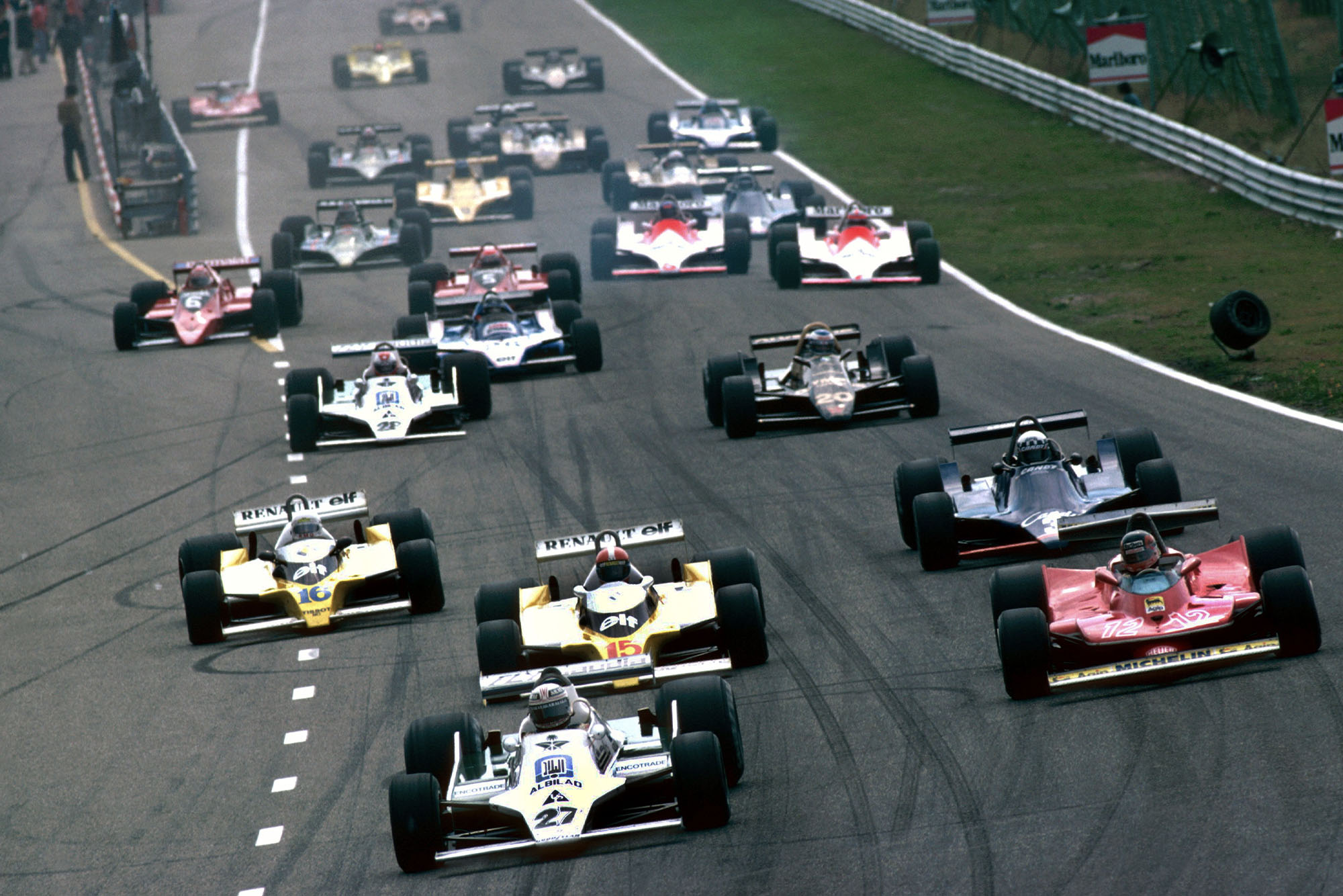 1979 Dutch GP start 2