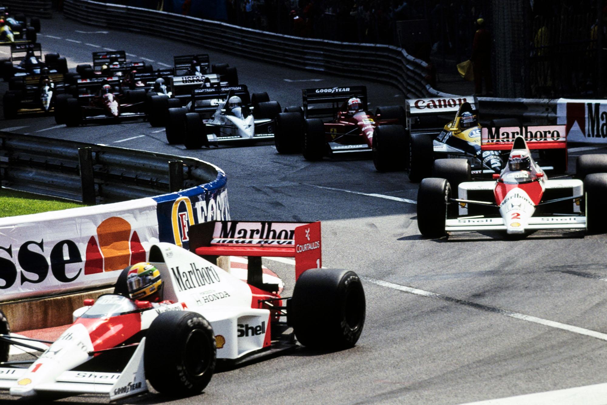1989 Monaco GP start