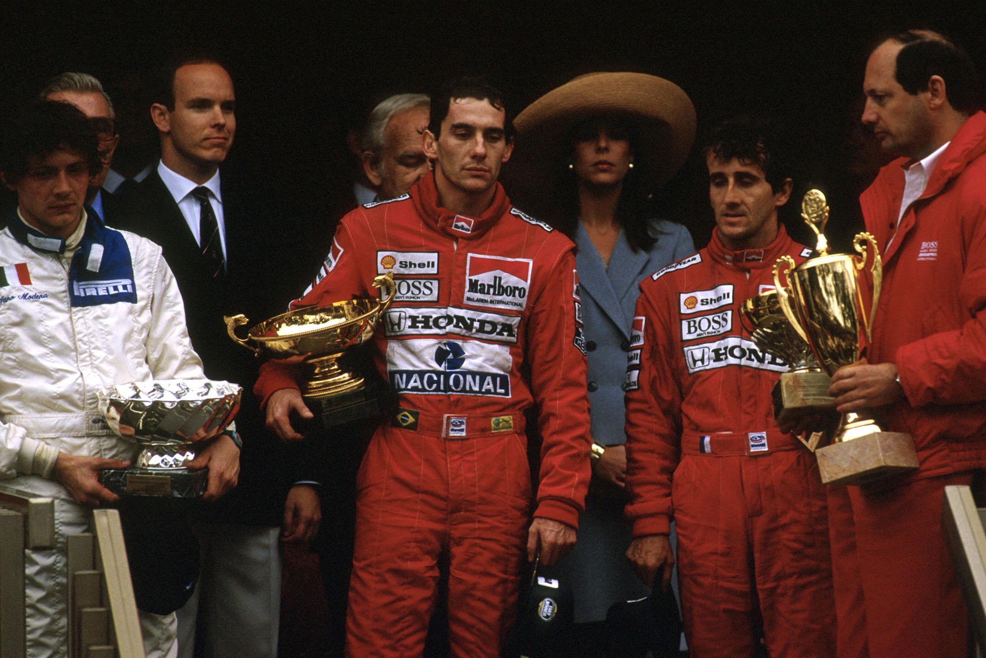 1989 Monaco GP podium