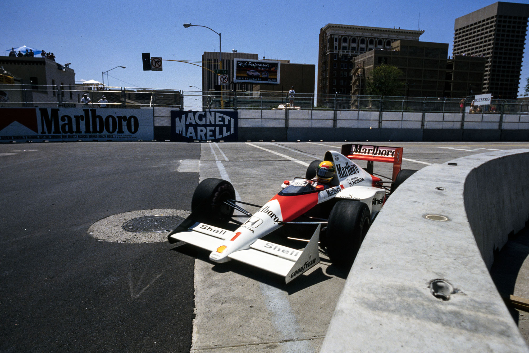 1989 US GP Senna