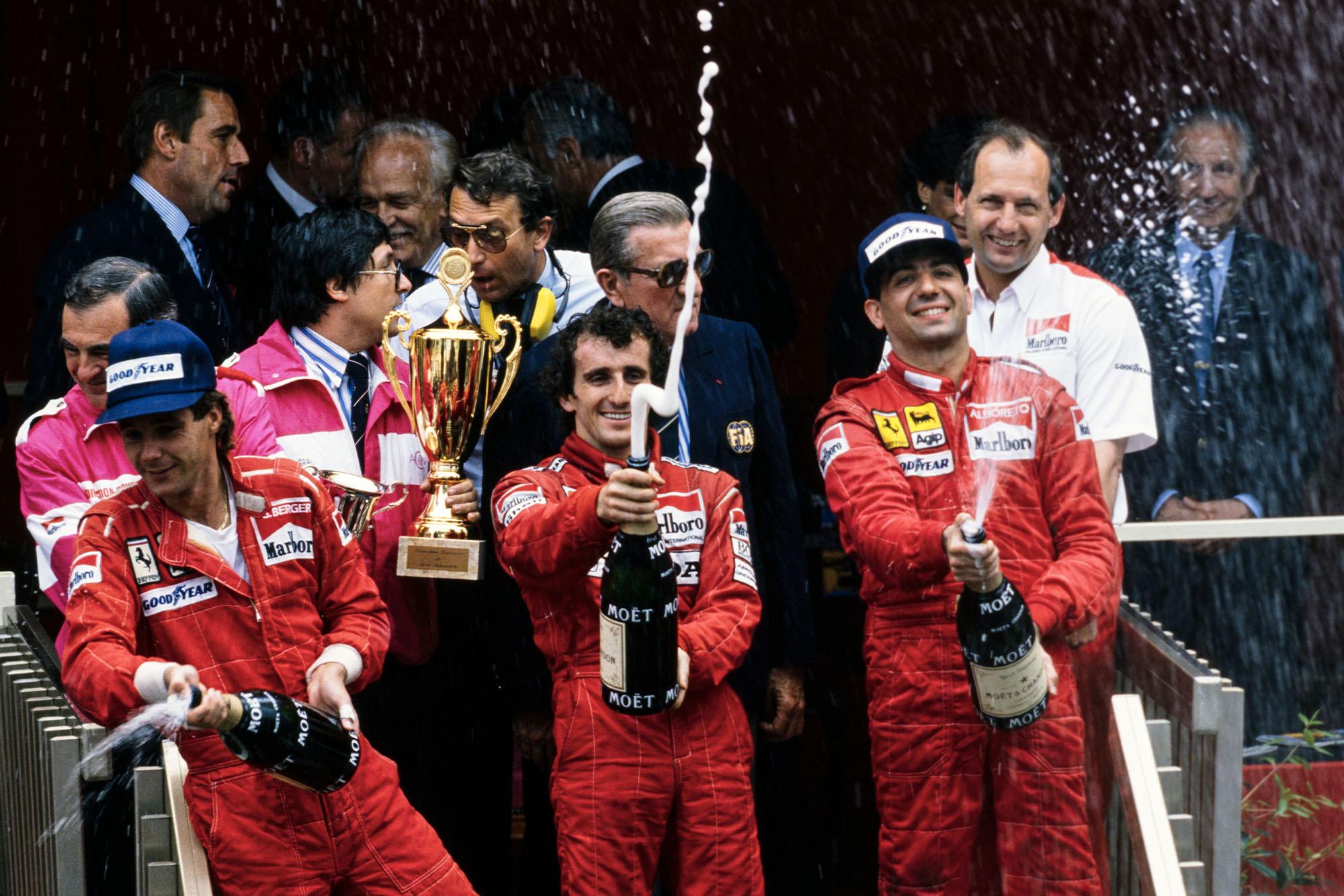 1988 MON GP podium