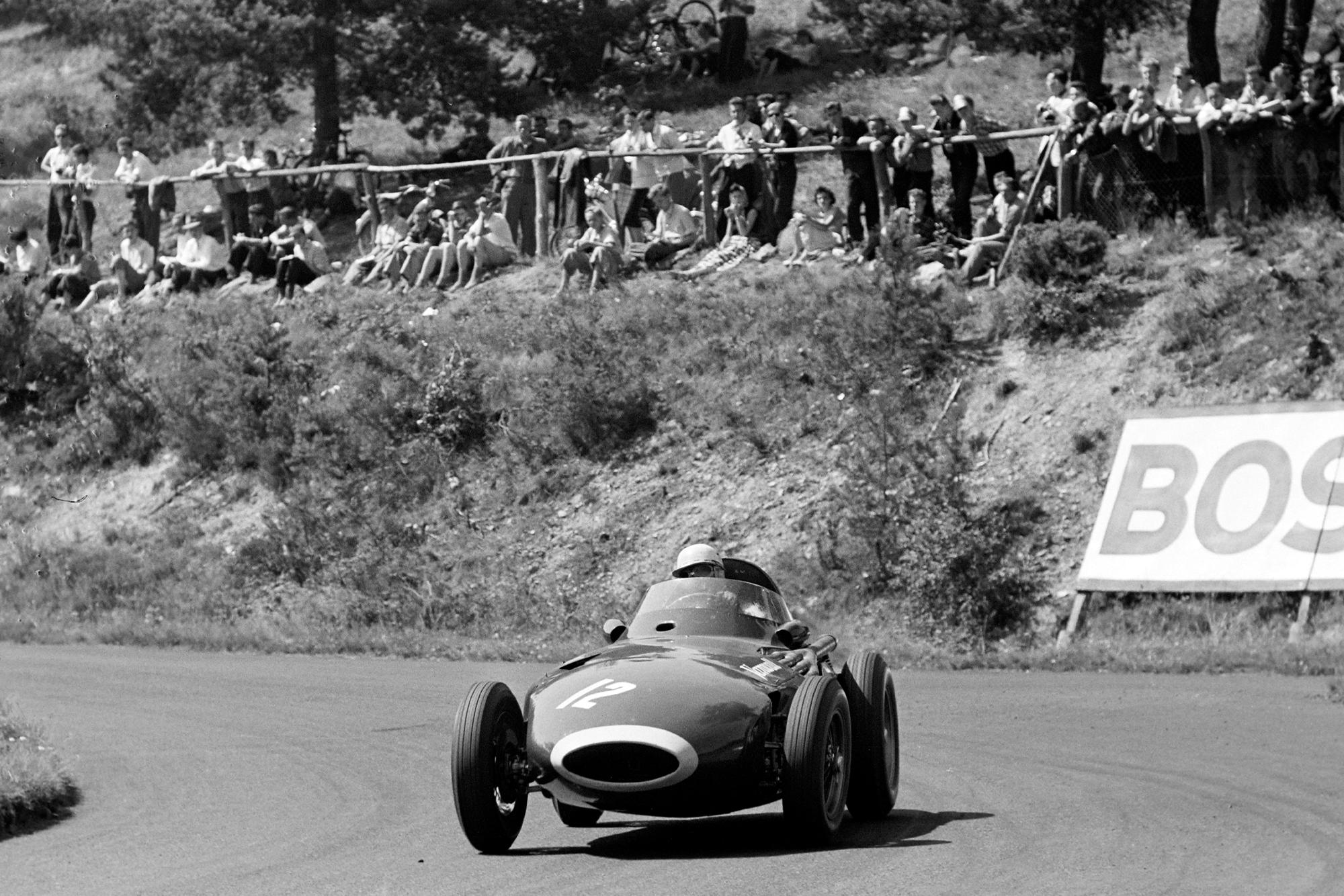Lewis Evans 1957 German GP