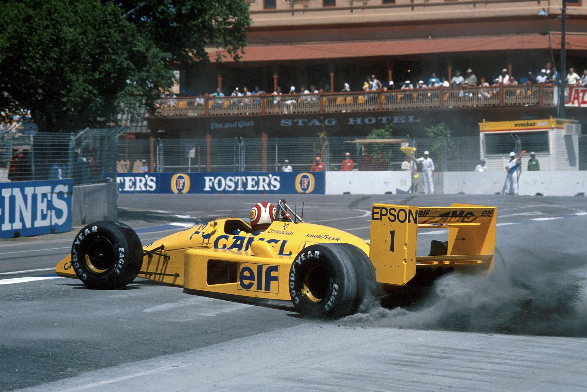 1988 AUS GP Piquet3rd