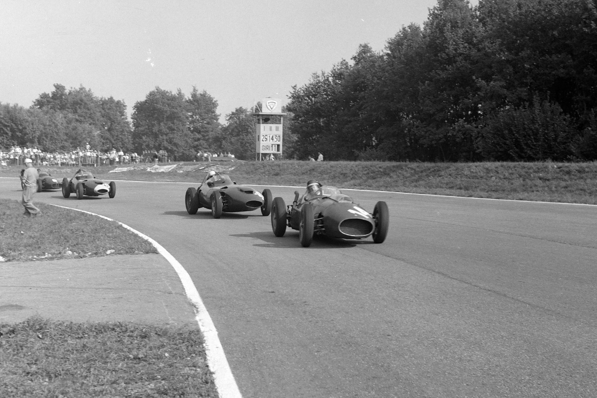 1958 Italian GP fight
