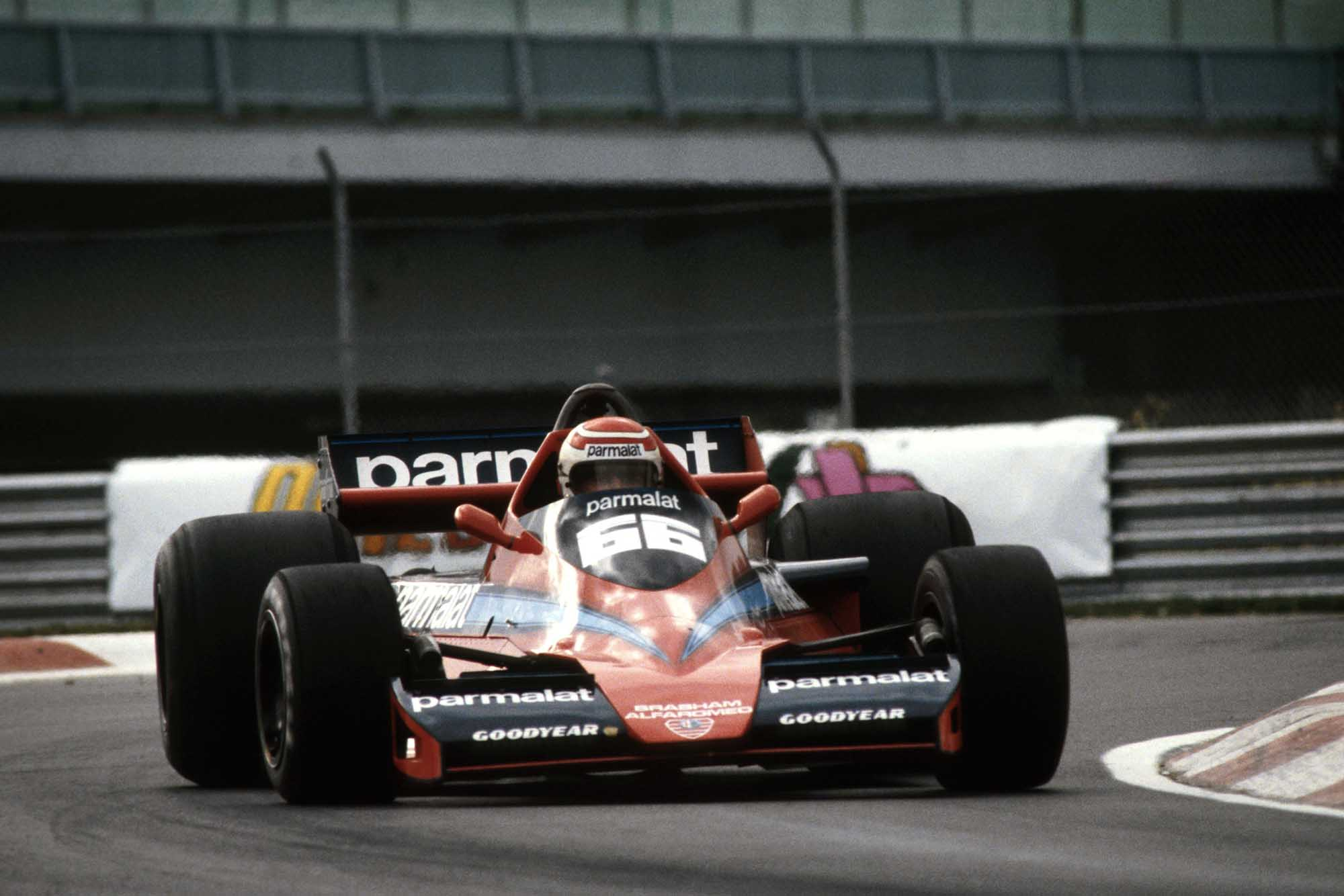 Nelson Piquet in his first race for Brabham 1978 Canadian Grand Prix Montreal