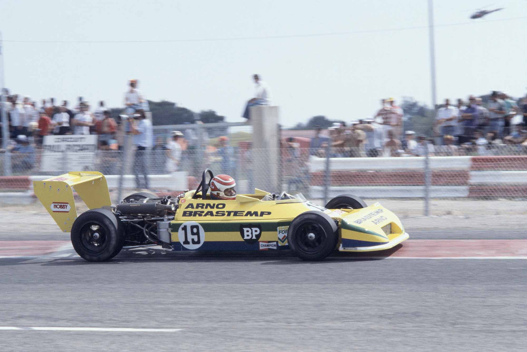 Nelson Piquet in his Ralt RT1 at Paul Ricard F3 1978