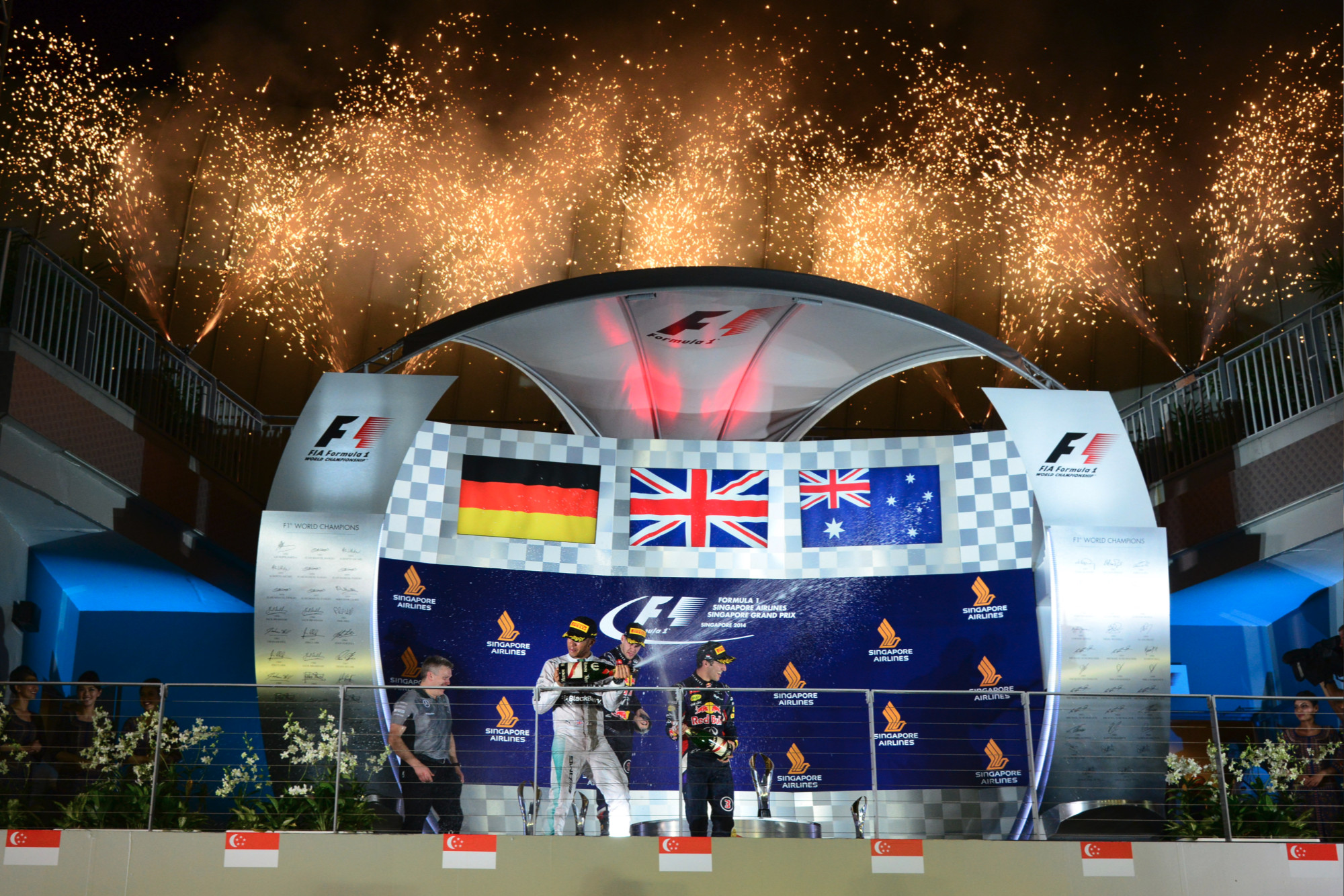2014 Singapore GP report