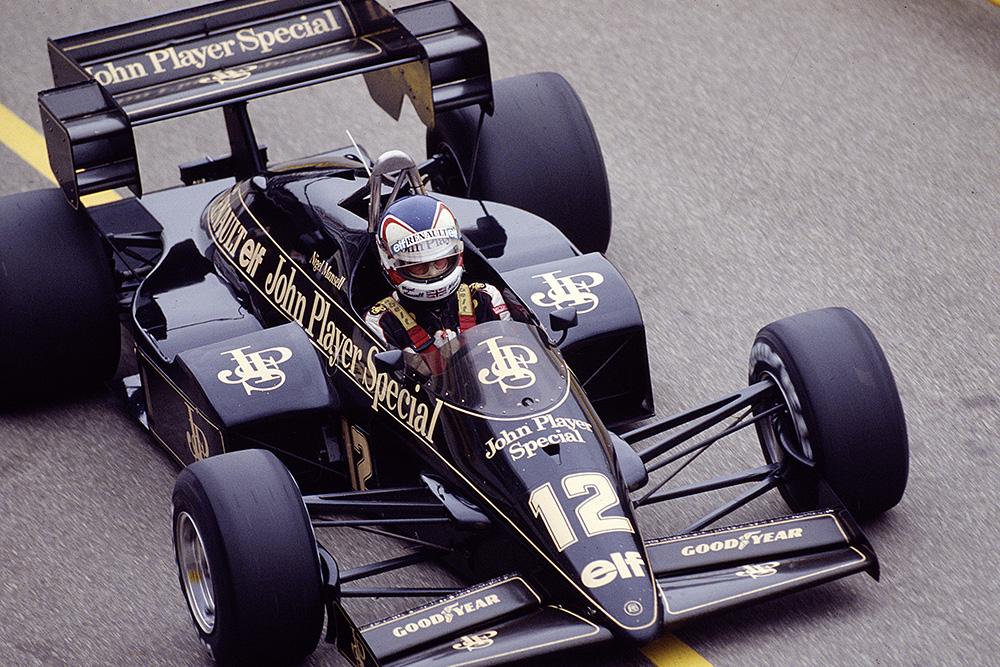Alain Prost driving a McLaren MP4/2.