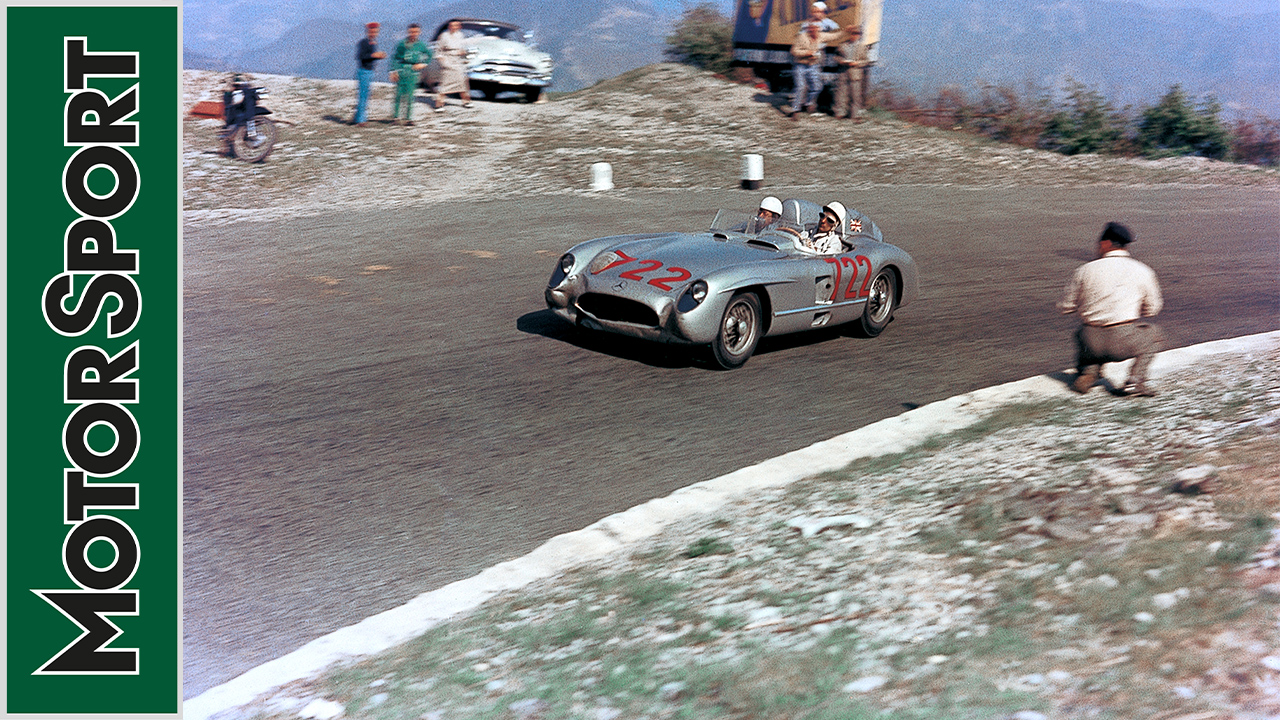 Video: Stirling Moss revisits the 1955 Mille Miglia