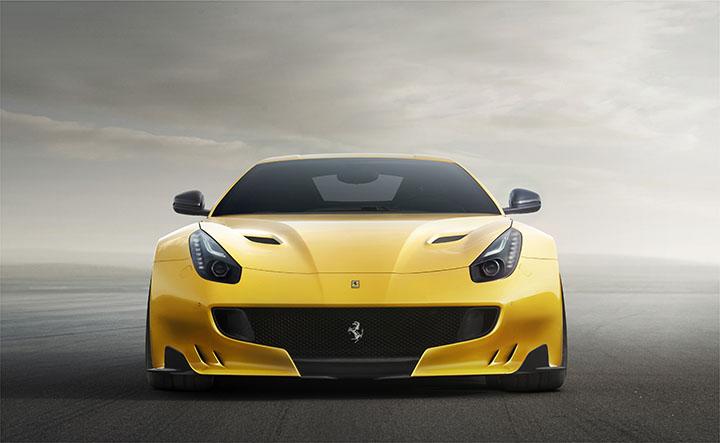The Ferrari F12 tdf