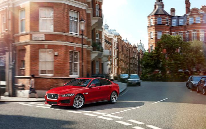 The new Jaguar XE