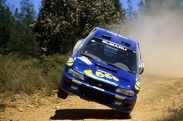 Great racing cars: 1998 Subaru WRC98