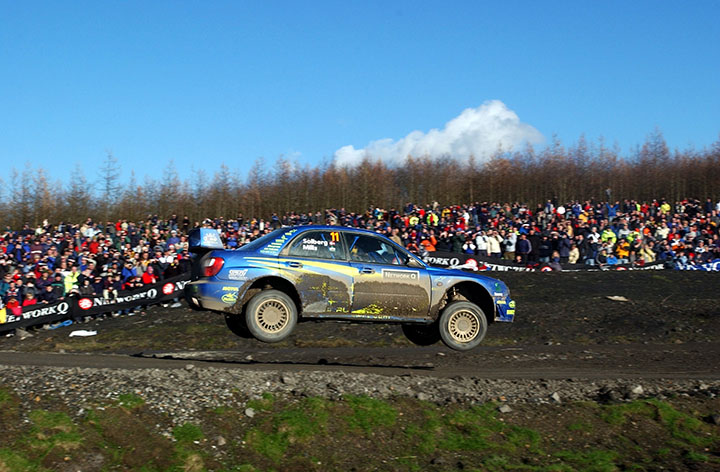 Petter Solberg: Rally GB hero