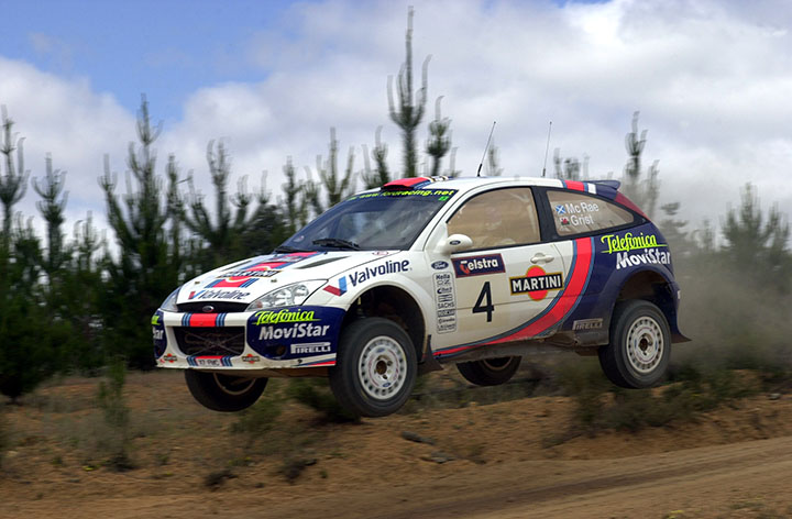 Colin McRae: Rally GB hero