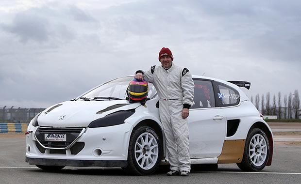 Villeneuve to race in World Rallycross