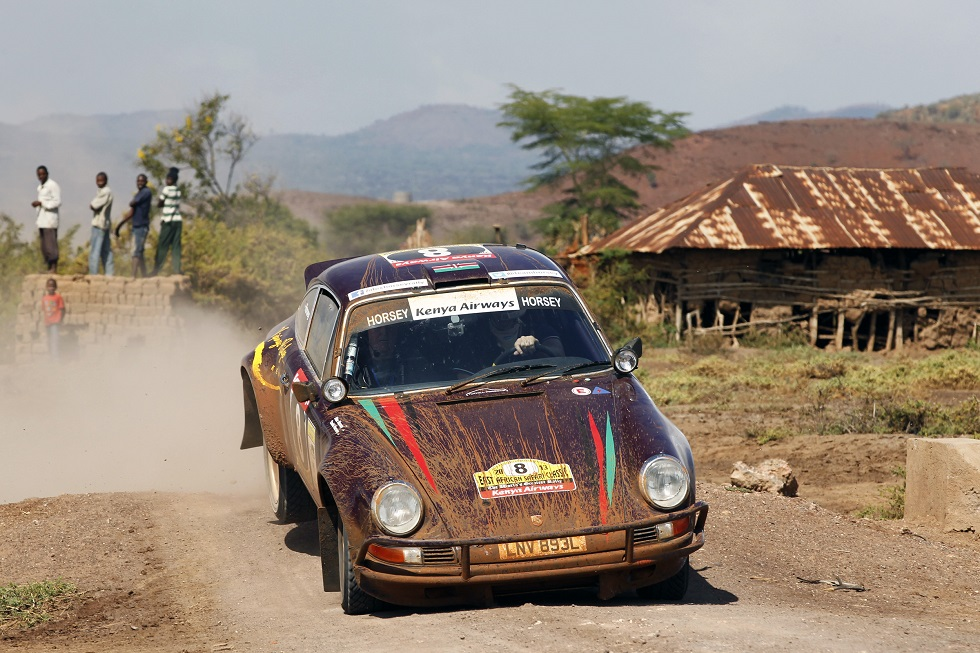 Tuthill Porsches on the Safari Classic