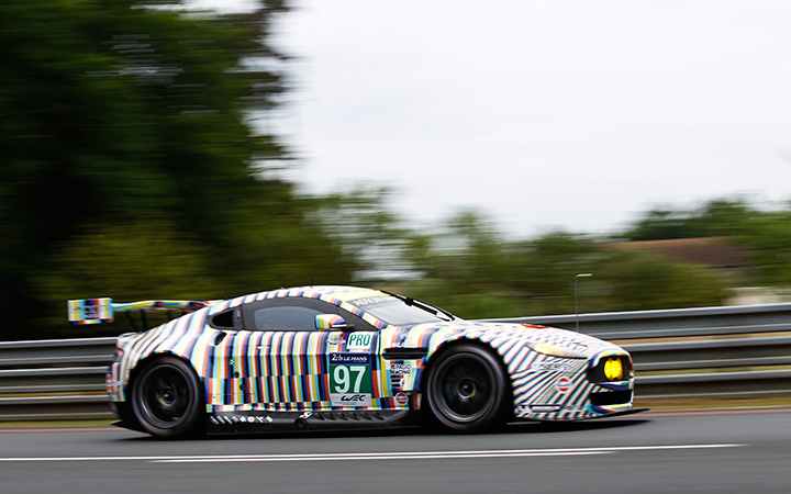 Darren Turner's Le Mans in pictures