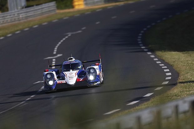 Toyota on pole at Le Mans