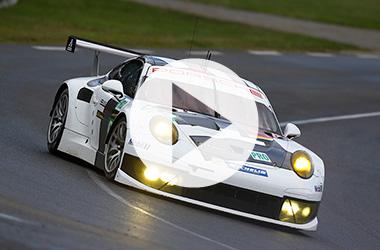 Porsche's GT Pro class win at Le Mans