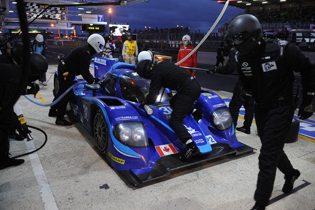Le Mans: the first 12 hours