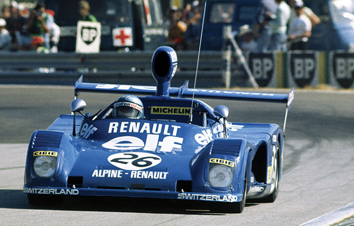 Great racing cars: 1975 Alpine A441