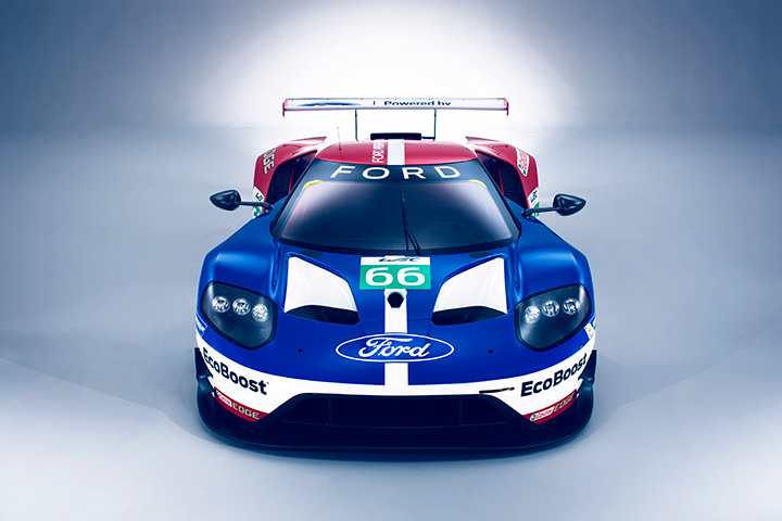 Blue oval, steely purpose: Ford returns to Le Mans