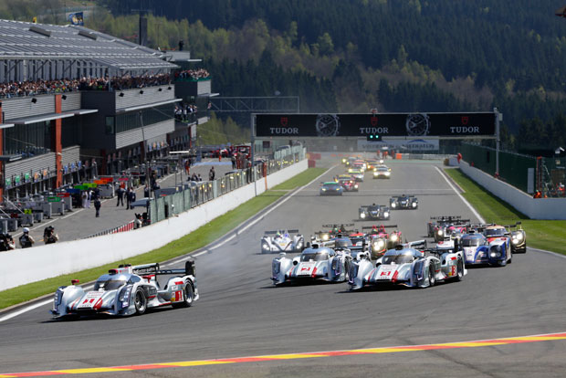 Audi 1-2-3 at Spa 6 Hours